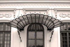 Door awnings Royalty Free Stock Photo