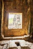 Door of Ba Phuon Temple, Angkor Thom, Siem Reap, Cambodia. Royalty Free Stock Photo