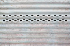 Door background. Pattern of metal door / grey door background Stock Photo
