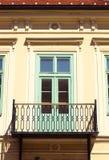 Door and balcony Stock Images