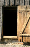Door of barn Stock Images