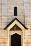 Door in the Basilica of the Annunciation. Detail of the door in the Basilica of the Annunciation, Nazareth, Israel Royalty Free Stock Photography