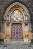 The door of Basilica of St Peter and St Paul Stock Photos