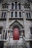 Door ,Basilique du Sacre Coeur in Paris, France Royalty Free Stock Image