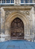 Door - Bath Abbey Royalty Free Stock Photography