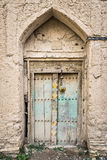 Door Birkat al mud Stock Photography