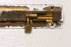 Door Bolt Royalty Free Stock Images