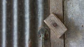 Door bolt Royalty Free Stock Photo