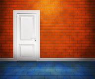 Door in the Brick Wall Stock Image