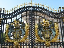The door of Buckingham Palace, London Stock Images