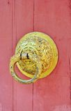 Door of Buddhist temple Stock Photography