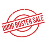 Door Buster Sale rubber stamp Stock Photography