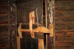 Door of Butch Cassidy and Sundance Kid House Stock Photos