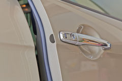 Door car of a luxury car. Door car - detail of a luxury car royalty free stock images