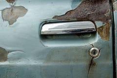 Door car is old Stock Photos