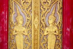 Door carving Royalty Free Stock Photos