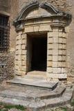 Door of castle Royalty Free Stock Images