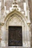 Door - castle in Romania Royalty Free Stock Photography
