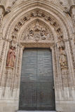 Door cathedral Royalty Free Stock Image