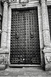 Door of Cathedral Royalty Free Stock Photography