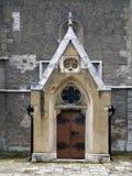 Door of Cathedral in Spisska Kapitula Stock Photo