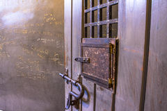 Door of cell Royalty Free Stock Images