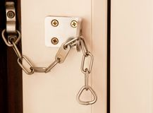 Door Chain Royalty Free Stock Photos