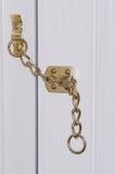Door chain Stock Photo