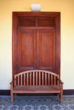 Door and chair Stock Images