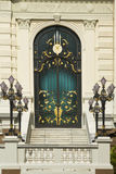 The door of Chakri Palace Stock Photo