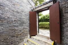 Door of chinese building Royalty Free Stock Photography