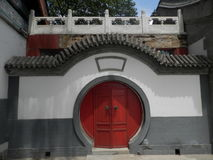 Door with Chinese characteristics Stock Image