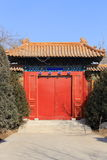 Door of Chinese historic building Royalty Free Stock Image