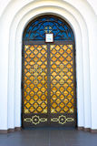 Door of church Royalty Free Stock Images
