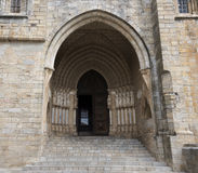 Door church evora Stock Photography