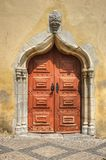 Door Church in Moura Royalty Free Stock Image