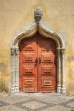 Door Church in Moura Royalty Free Stock Image