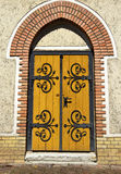 Door of the church Royalty Free Stock Photos