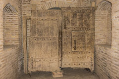 Door Citadel of Herat - afghanistan Royalty Free Stock Photography