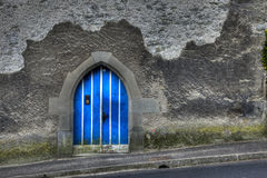 Door in City Wall Luzern Royalty Free Stock Photo