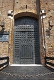 Door in the citywall,Verona,Italy Stock Images