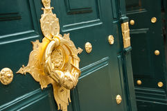 Door closeup Royalty Free Stock Images