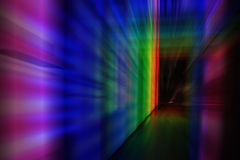 Door in the color night. As nice abstract background Royalty Free Stock Photos
