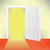 Door. Colorful illustration with door for your design Royalty Free Stock Photography
