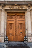 Door with columns Stock Images