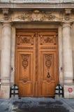 Door with columns Stock Images