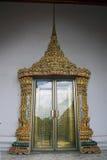 Door in a complex of temple Wat Pho Stock Photos