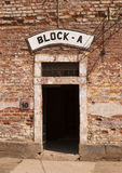 Door At Concentration Camp Royalty Free Stock Photos