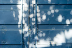 Door of a container Stock Images
