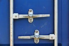 Door contrainer lock Stock Photo